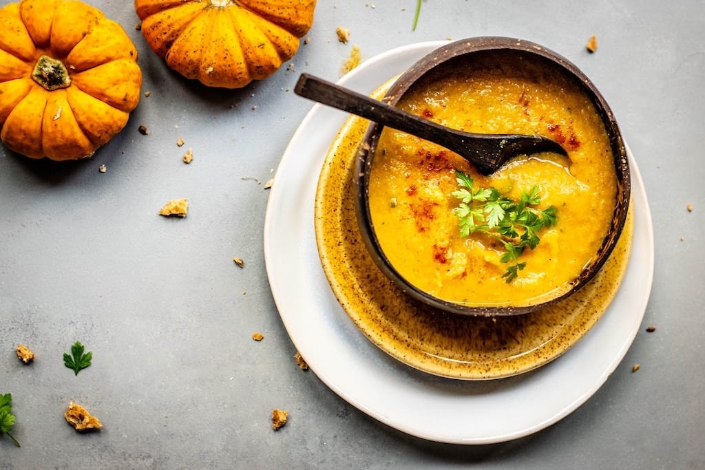 Pumpkin soup foods for hypothyroidism