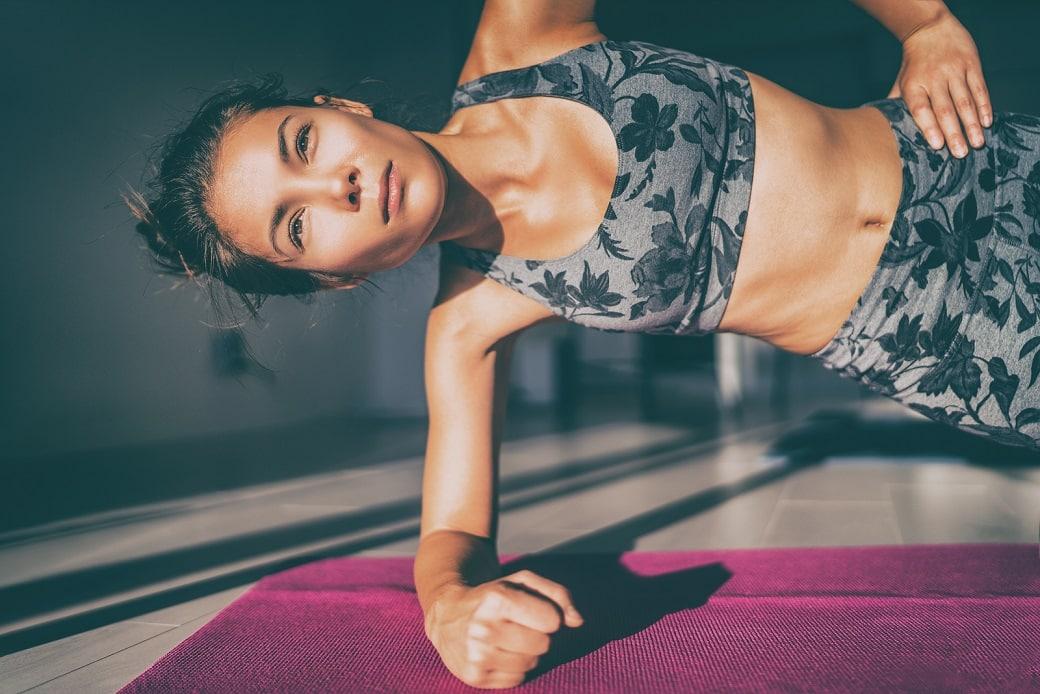 Yoga for hypothyroidism side plank