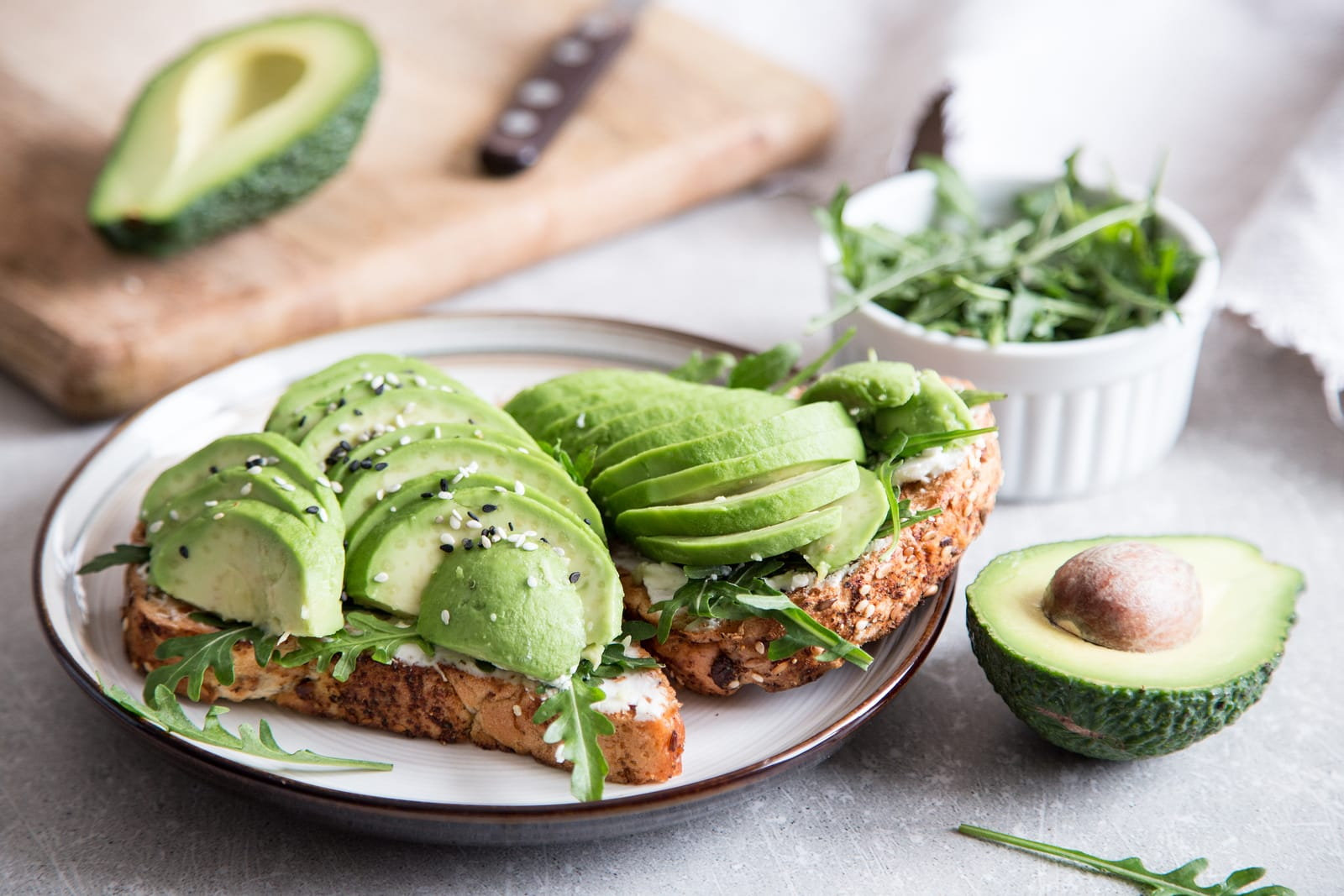 What to eat when stressed- avocados