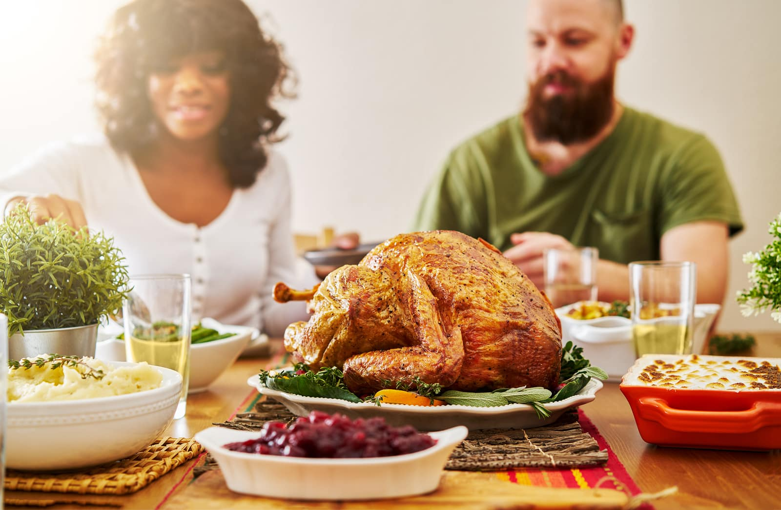 Chew more to beat bloat on Thanksgiving