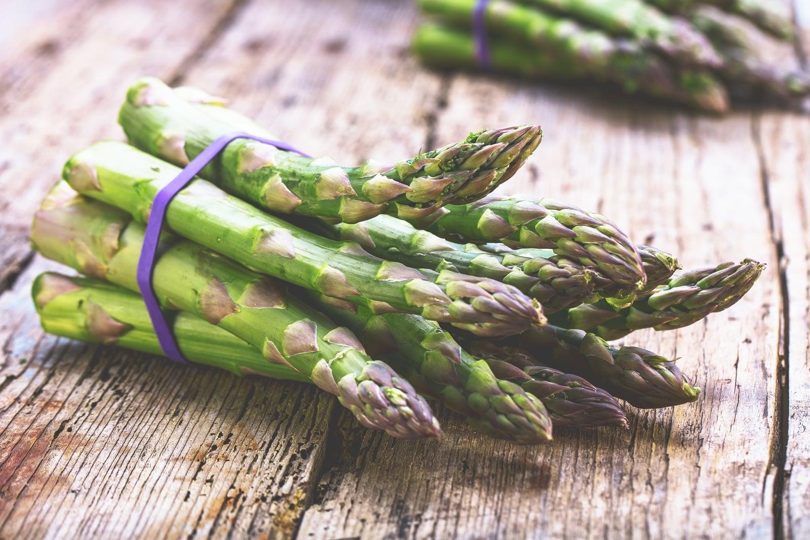 asparagus for riboflavin