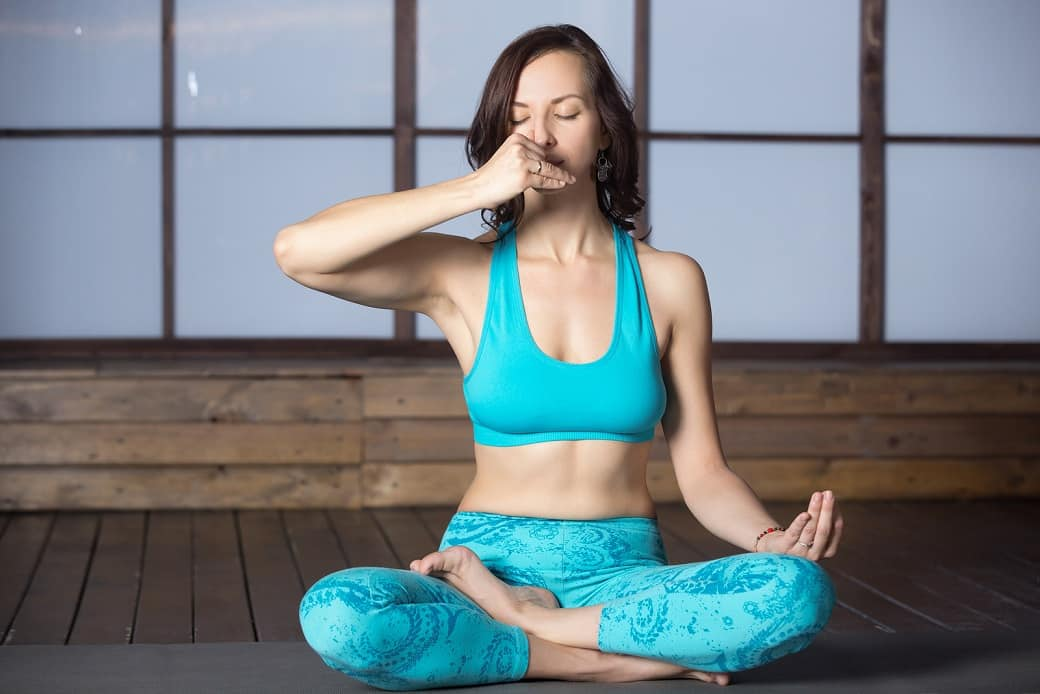 Yoga breath for hormone balance? Yes, please