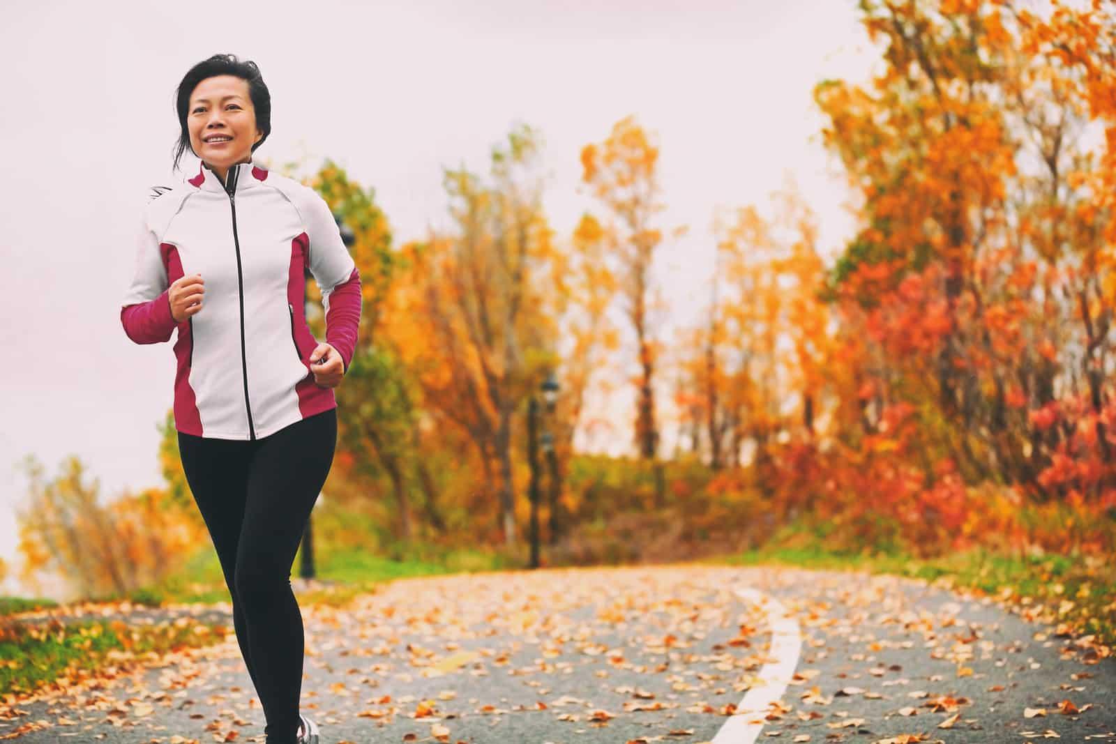 Cardio exercise in perimenopause