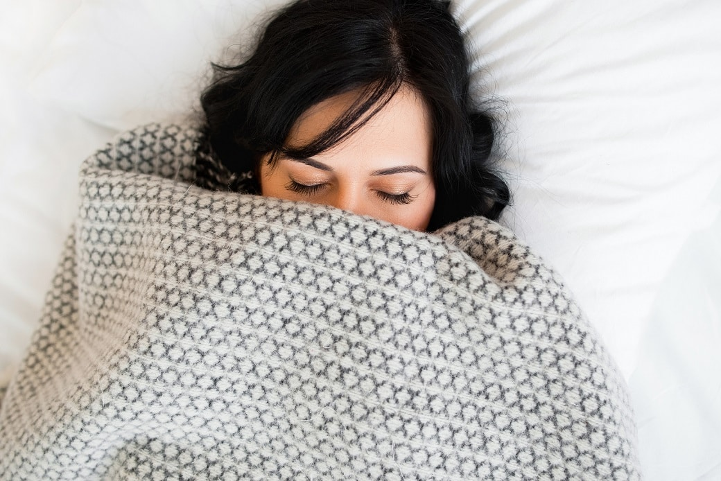 Get cozy: you'll love this easy way to balance hormones