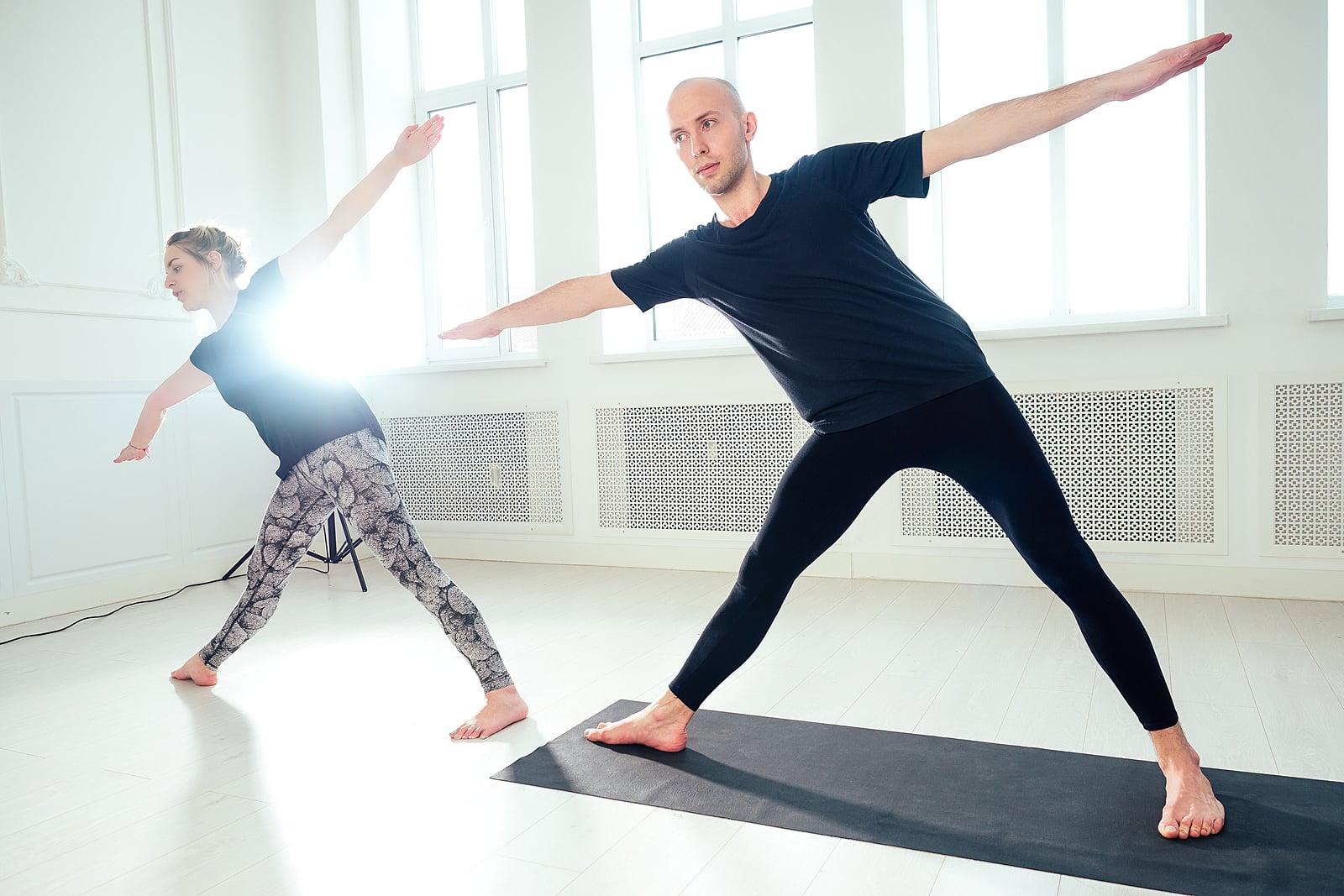 Hot yoga and fertility- male