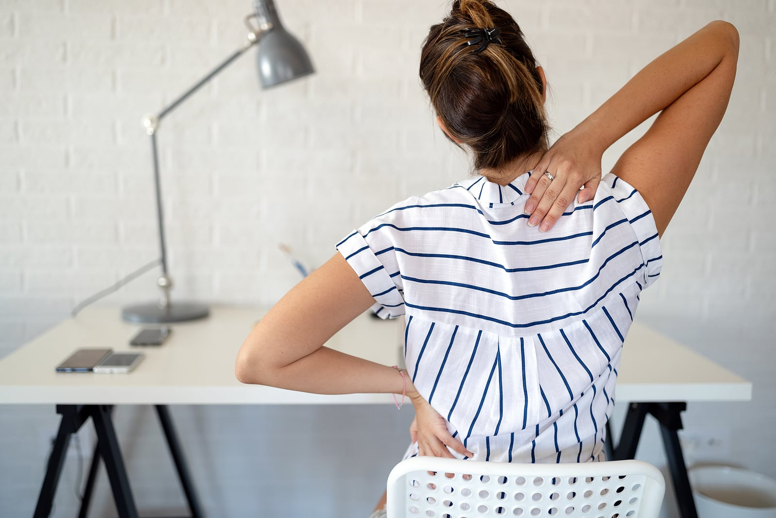 Work-from-home posture advice during COVID + beyond