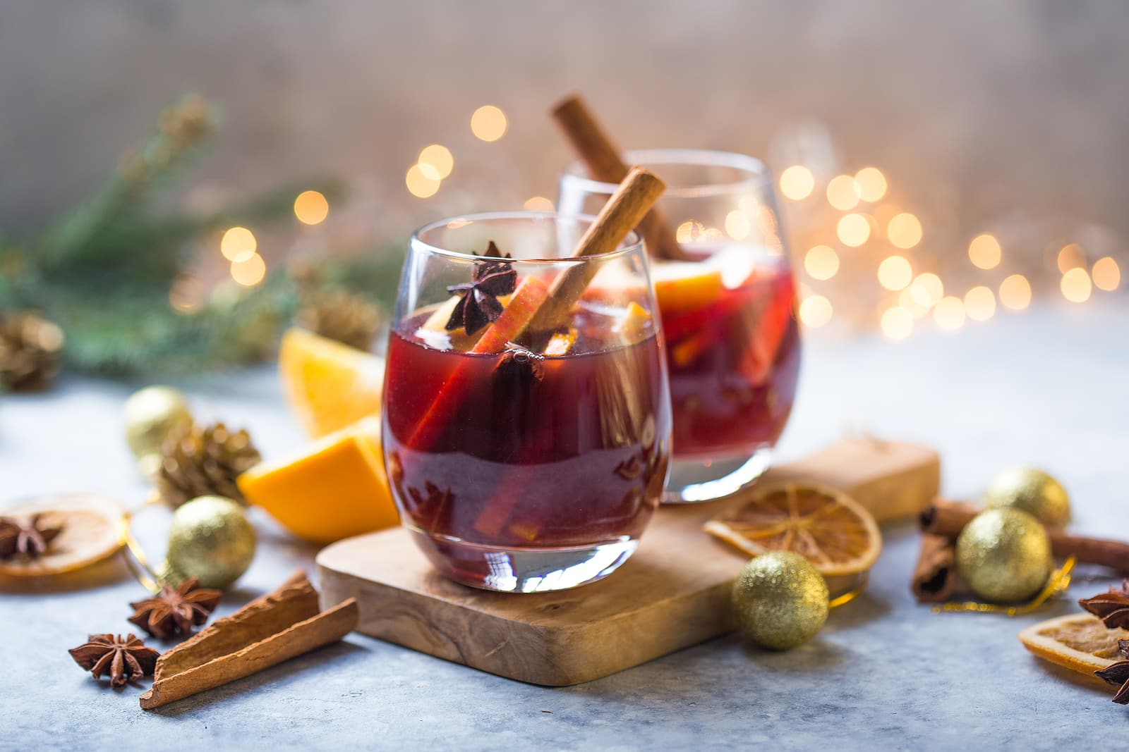Is alcohol bad for hormones? Two glasses of mulled wine