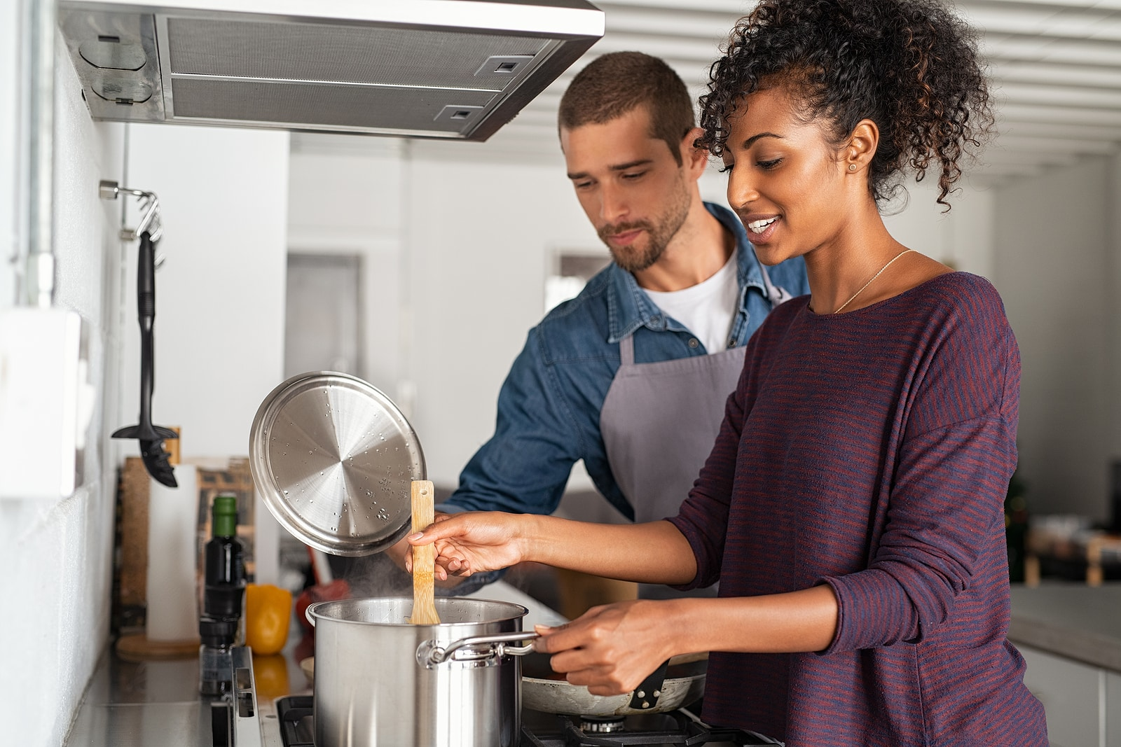 Woman cooking- what doshas mean for your health