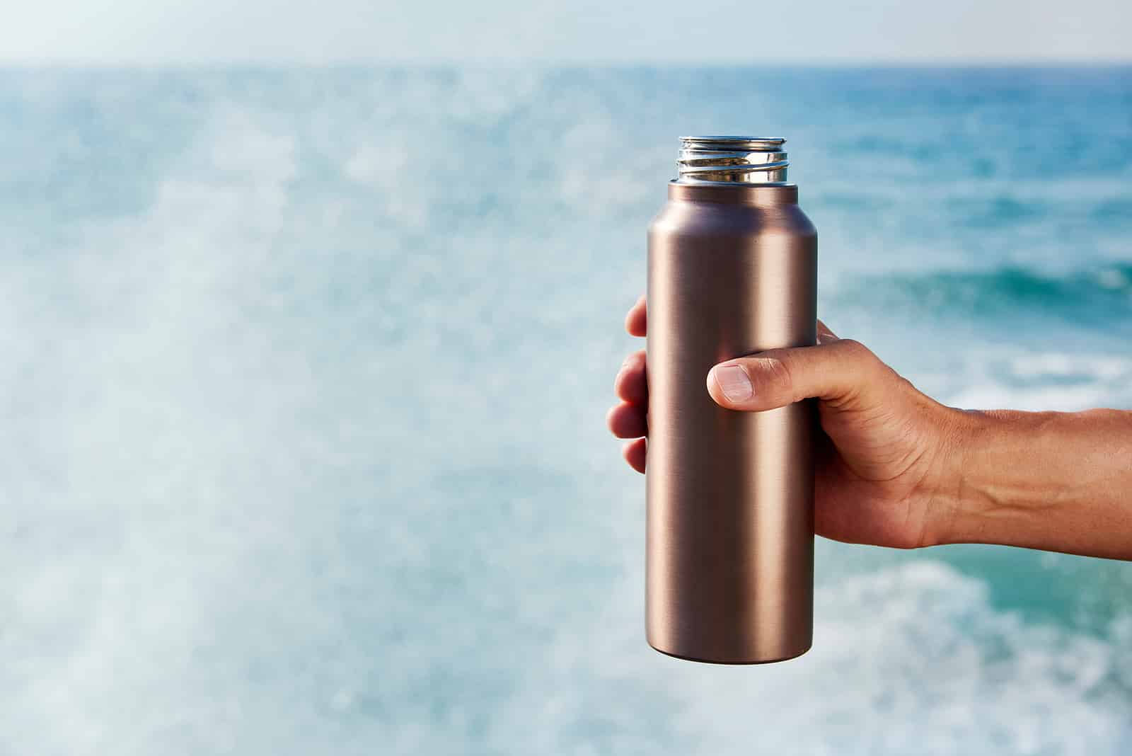 Water bottle- stay hydrated to reduce side effects of COVID vaccine