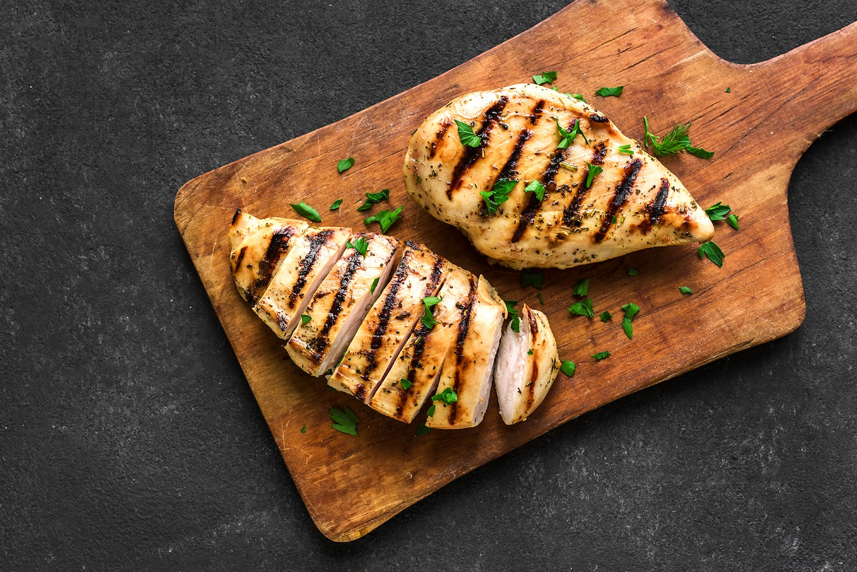 Why am I always tired? Chicken on cutting board