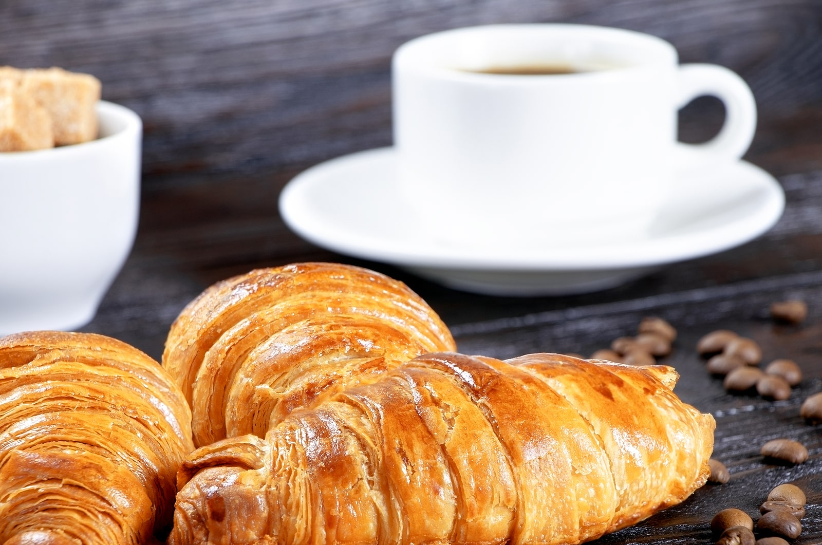 Refined carbs and fatigue- plate of croissants